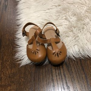 Old baby girl clogs
